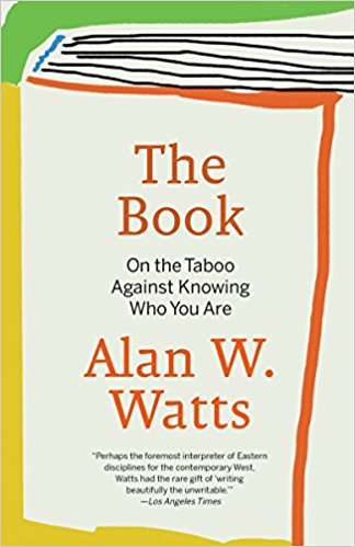 The Book On The Taboo Against Knowing Who You Are Alan Watts