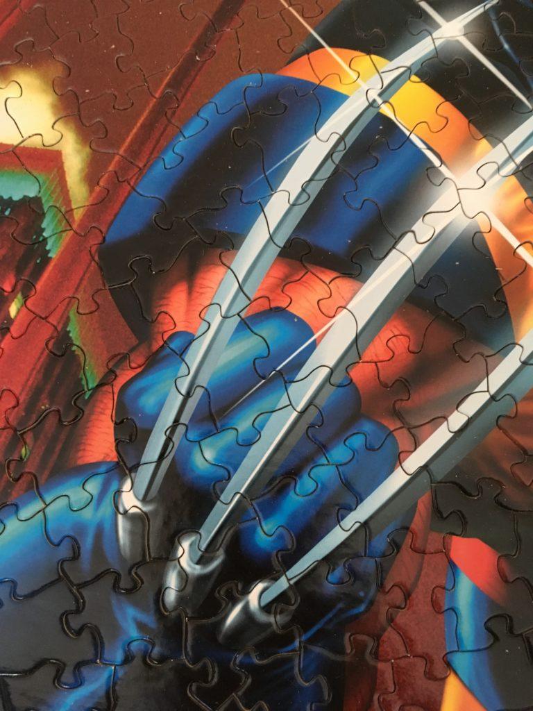 Marvel Wolverine Jigsaw Puzzle