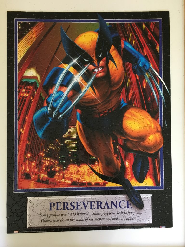 Marvel Wolverine Perseverance Jigsaw Puzzle
